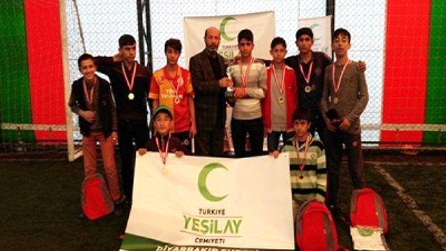 Haber: Yeşilay Halı Saha Futbol Turnuvası Sona Erdi