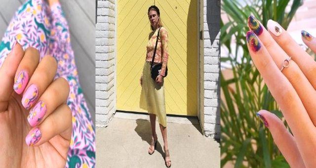 Batik Trendi Kıyafetleri ve Tırnakları Ele Geçirdi