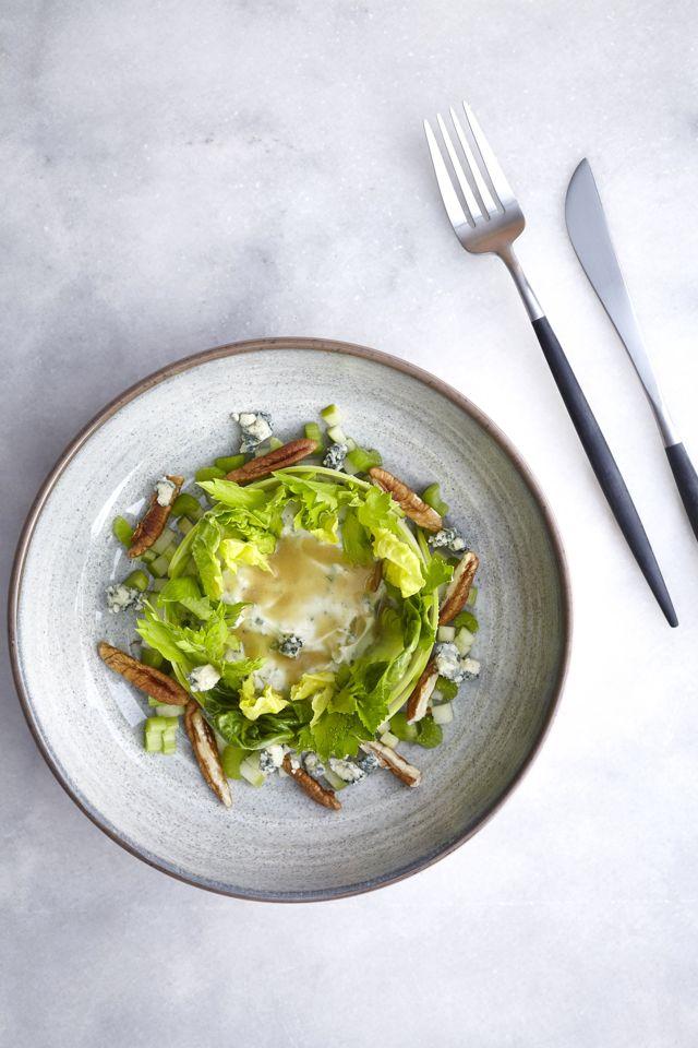 Pikan cevizli yeşil salata tarifi