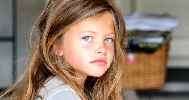 Dünyanın en güzel kızı Thylane Blondeau büyüdü