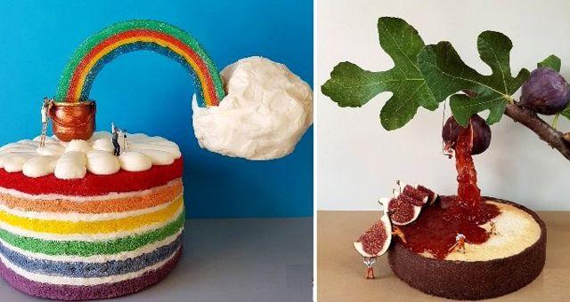 Haber: Tatlıları minyatüre dönüştüren pasta şefi