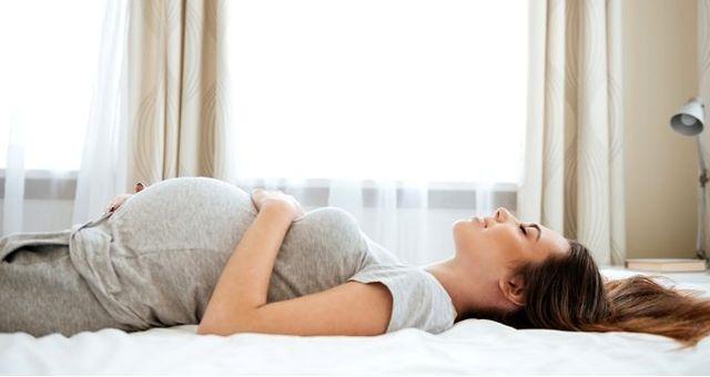 Haber: Hamileler için en uygun uyku pozisyonları
