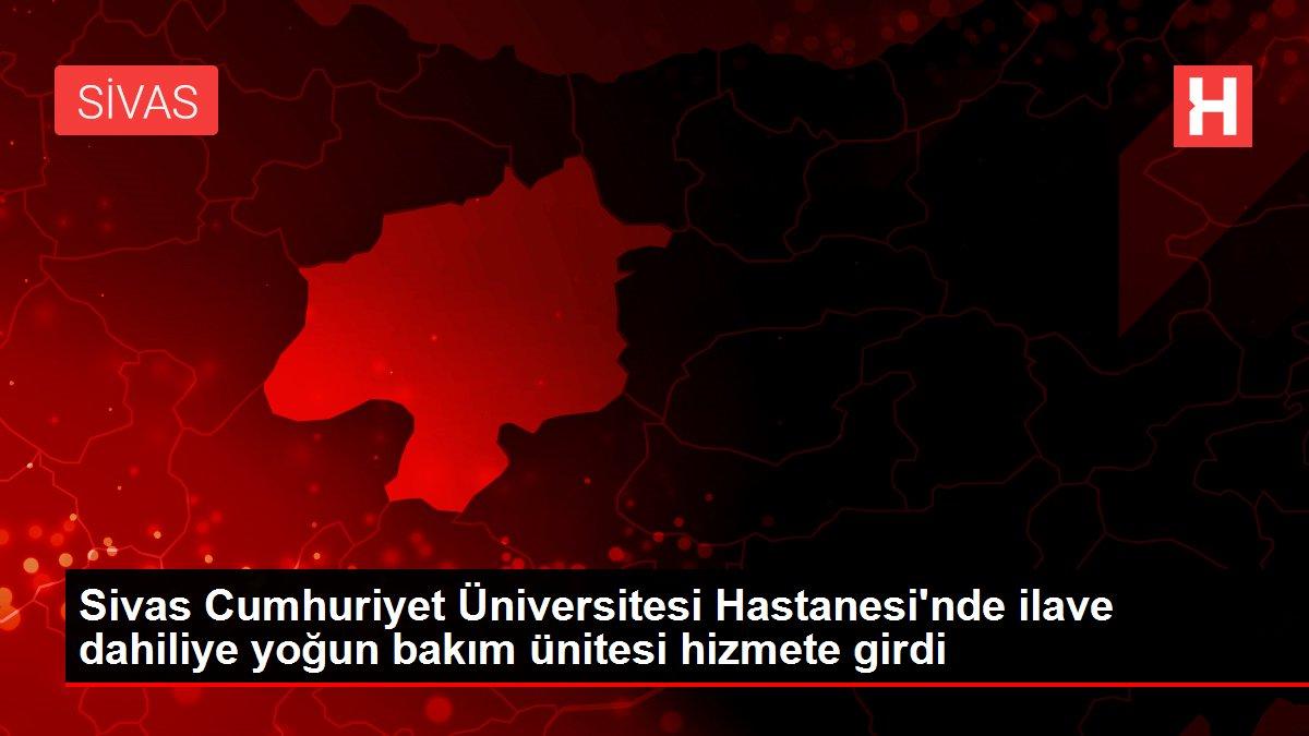 Son dakika! Sivas Cumhuriyet Üniversitesi Hastanesi