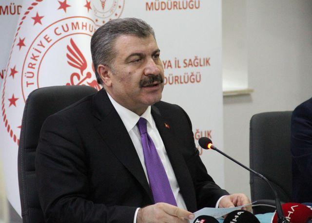 Haber: Sağlık Bakanı Koca, Erzurum ve Yozgat'ın aşılamada 'mavi' kategorideki iller arasına girdiğini duyurdu